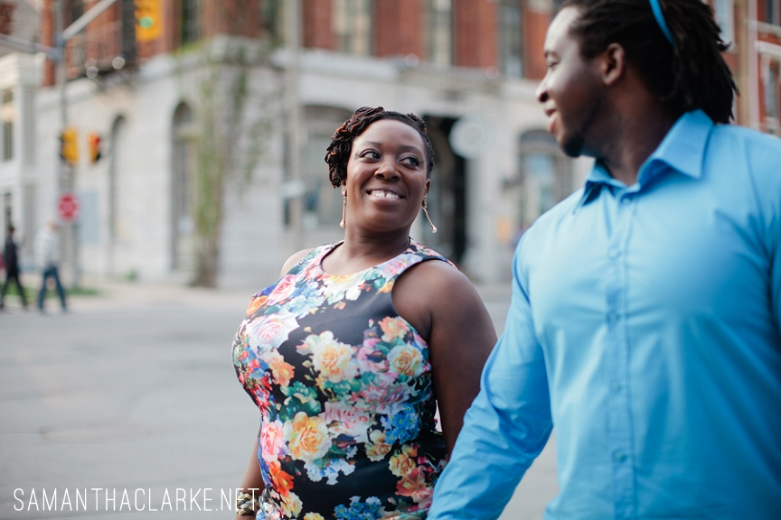 jamaican canadian engagement photography