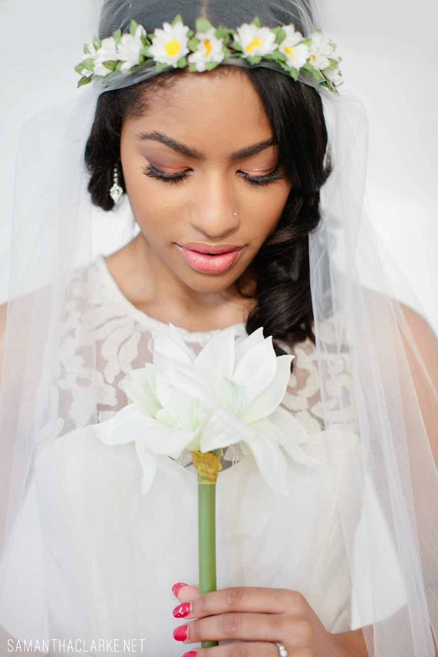 Boho Chic Bridal Makeup