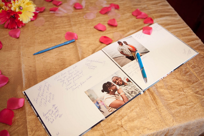 wedding-guestbook-with-engagement-photos