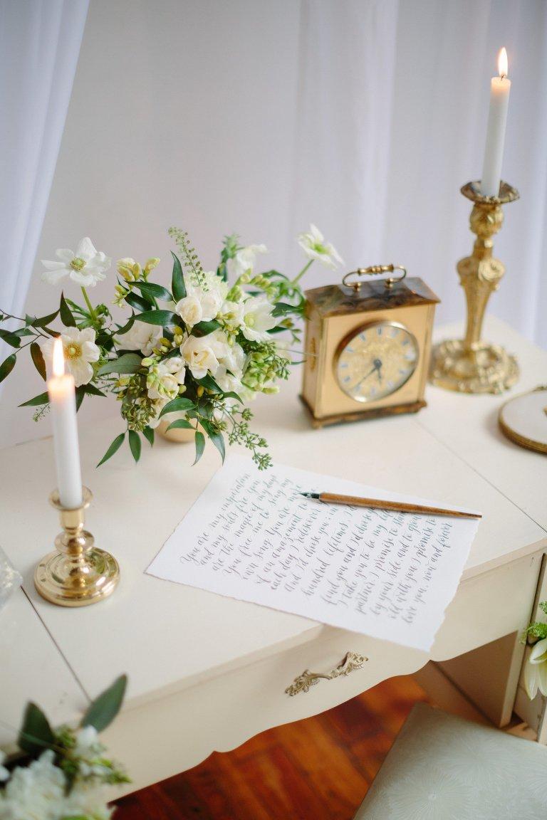 Vintage Wedding Decor | Elegant Wedding Magazine Feature » Samantha ...