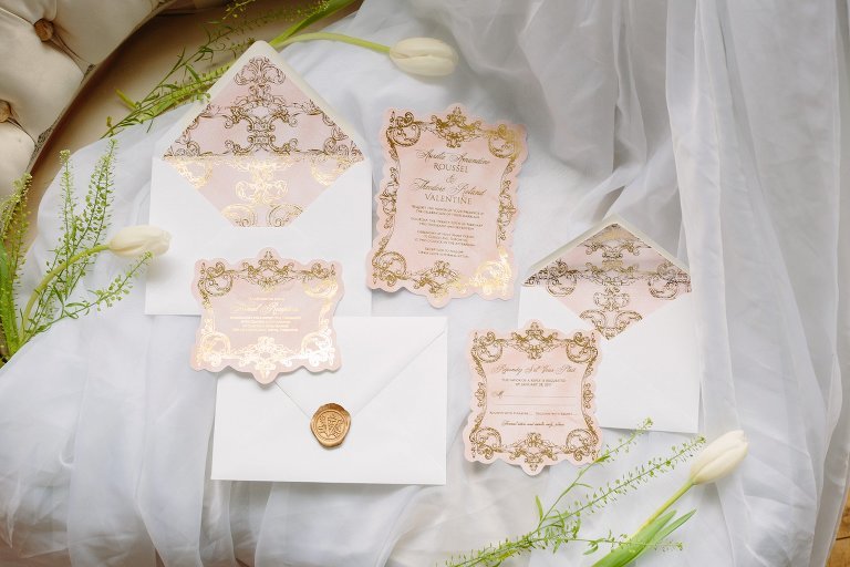 Vintage Wedding Decor Elegant Wedding Magazine Feature Samantha
