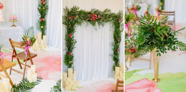 Tropical Theme Wedding Ideas